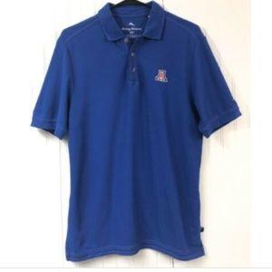Tommy Bahama Small Arizona Wildcats Polo Shirt S/S